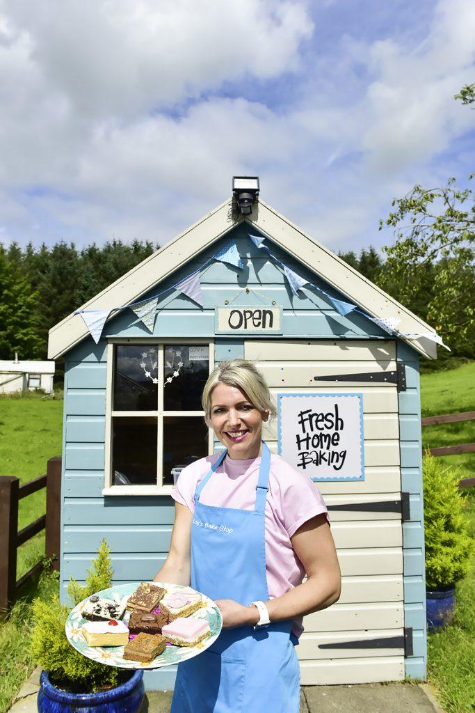 Louise Paterson who runs Lou's Bake Stop